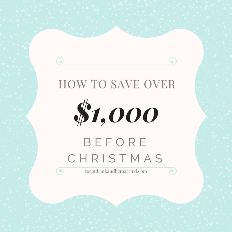 1000 Images About Eat Drink And Be Married On Pinterest: Save Over $1000 Between Now And Christmas