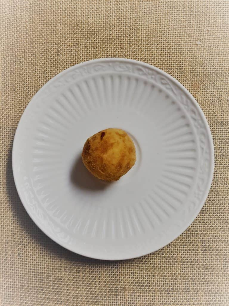 """Cuban Papas Rellenas are a """"must know"""" for everyone who likes to cook! Easy, impressive, delicious, and with a Latin flair! Literally potato balls stuffed with ground beef and deep friend to golden perfection!"""