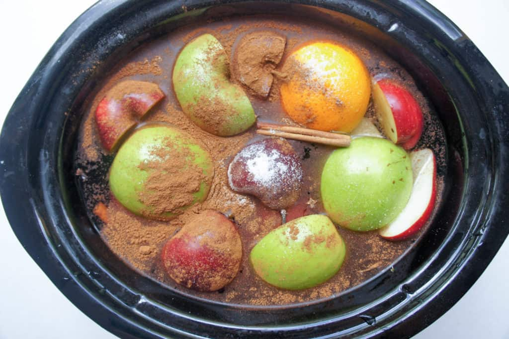 Slow Cooker Autumn Apple Cider is the perfect evening treat after a long fall or winter day. Curl up with a steaming mug of this on a chilly day!