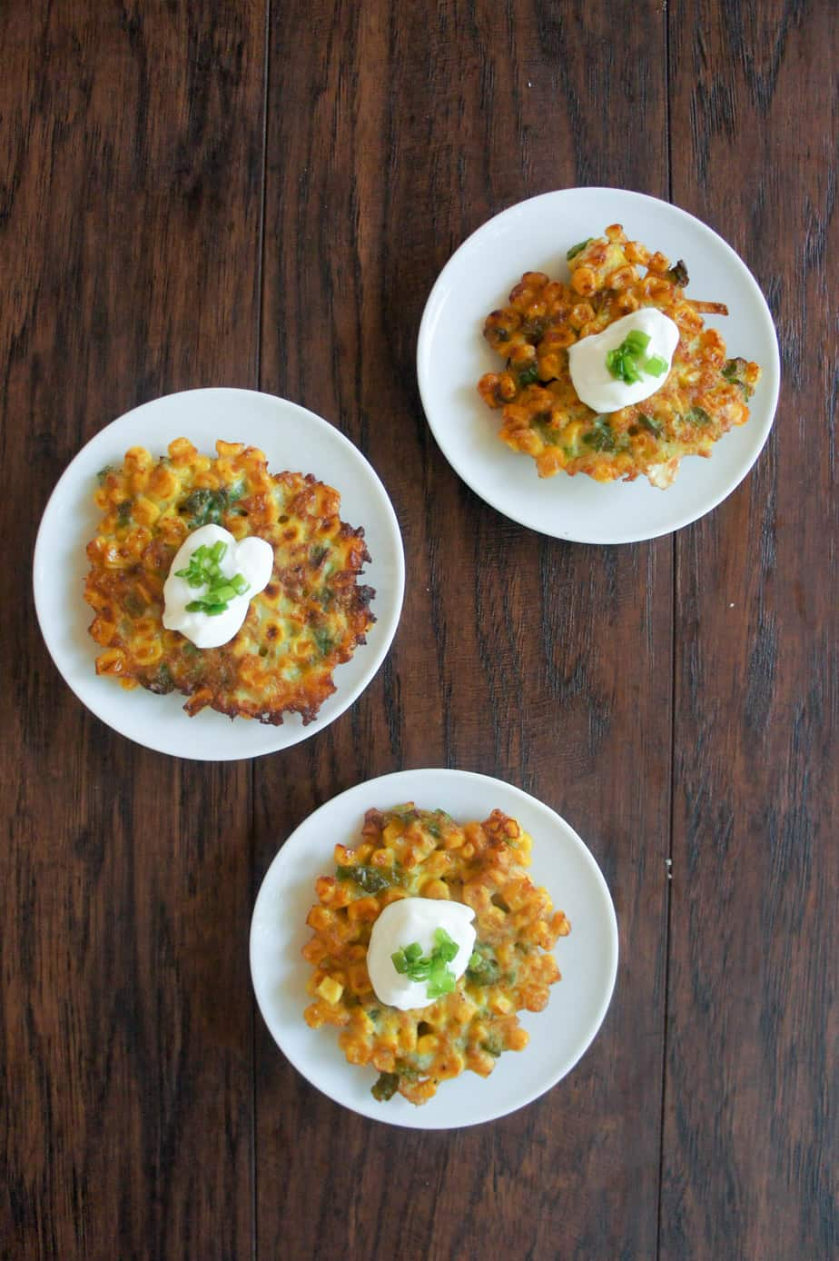 Mexican street corn in fritter form is the very best appetizer for Taco Tuesday or any other night of the week!