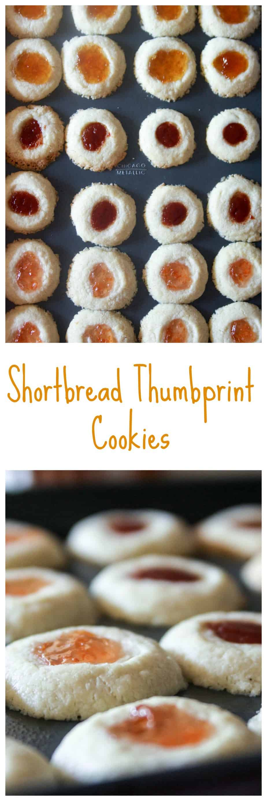 Jam Shortbread Cookies are the perfect treat for