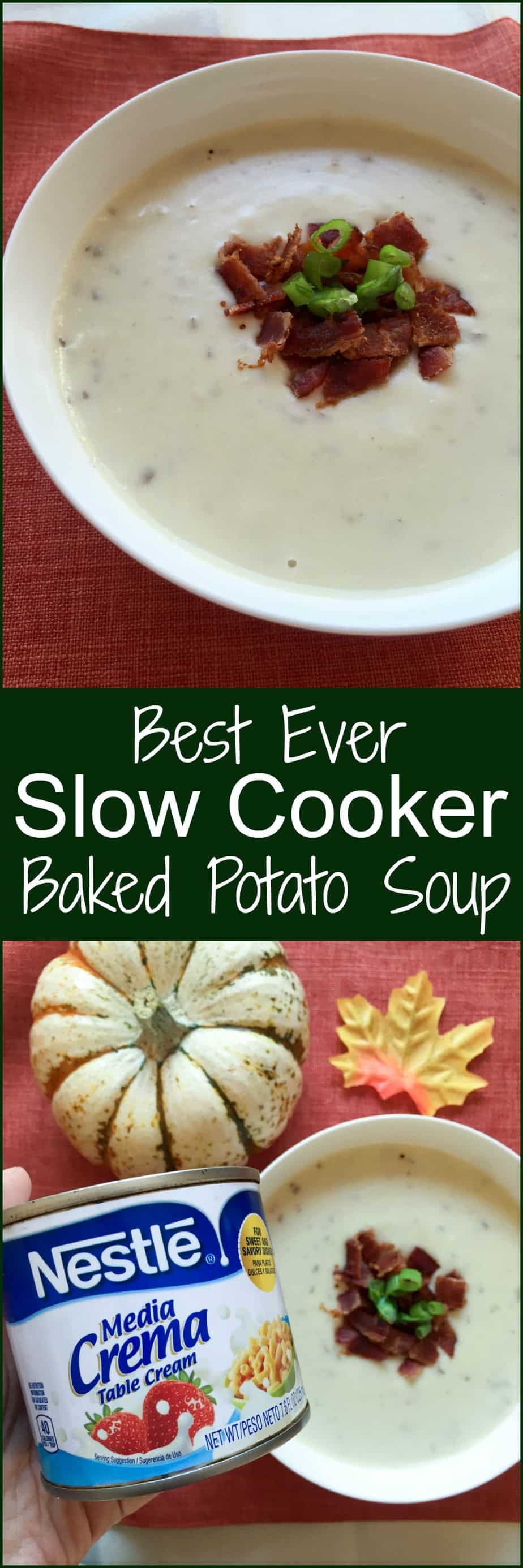 nestle slow cooker baked potato soup
