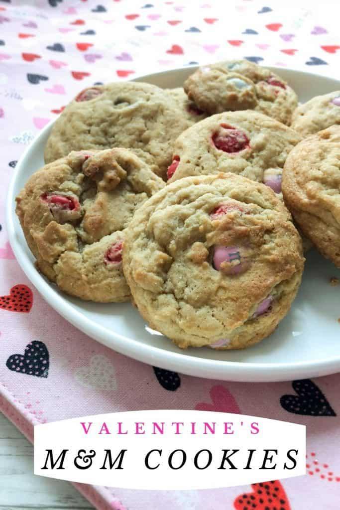Valentine's M&M Cookie
