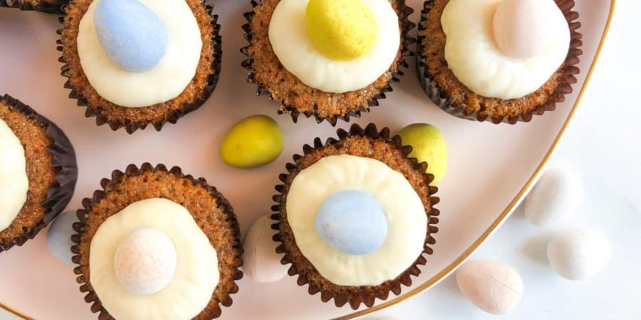 Easter Carrot Cake Muffin