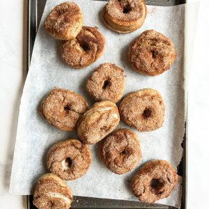 Cinnamon Sugar Crunch Bagels
