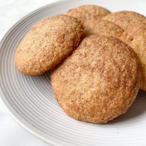 Vegan Snickerdoodle Cookies