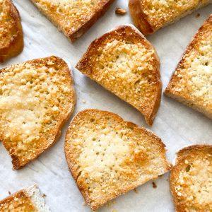 Parmesan Garlic Crostini Bread