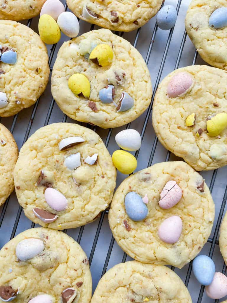Cadbury Candy cookies